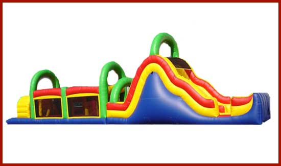 inflatable-obstacle-course-doubleslide