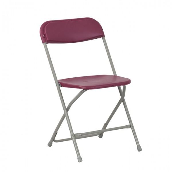 Burgundy Chairs